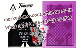 Fournier 2800 marked playing cards