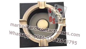 Ashtray poker scanning camera