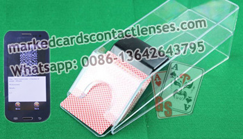 Baccarat Shoe marked cards scanner