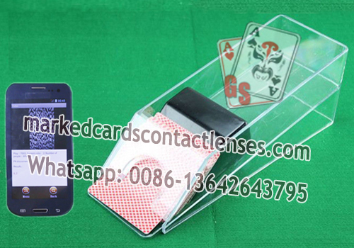 marked cards system for Baccarat