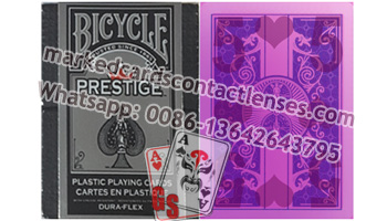 Prestige Bicycle marked playing cards