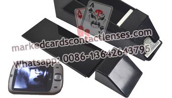 Black Shuffle Common Playing Cards Shoe
