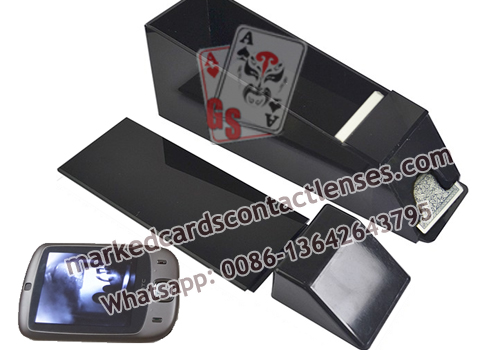 Black Shuffle Common Playing Cards Shoe