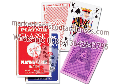 Piatnik Classic Poker Marked Cards