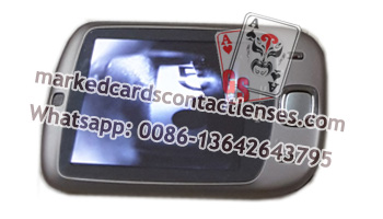 Playing cards reader