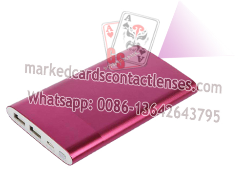 Colorful Power Bank Marked Cards Reader