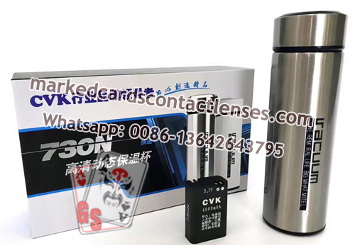 CVK 730N Insulation Cup With Poker Mini Spy Camera
