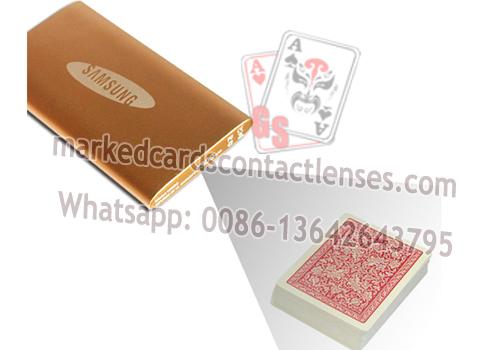 External Poker Scanning Camera For Side Marking Cards