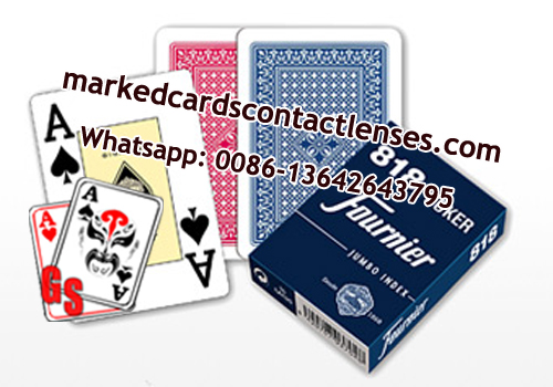 Fournier 818 playing cards