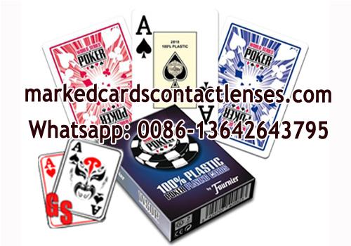 Fournier WSOP playing cards