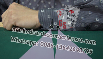 Cuff Marking Cards Scanning Lens