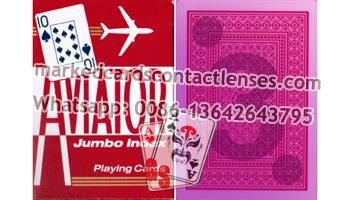 Luminous Aviator Marked Cards
