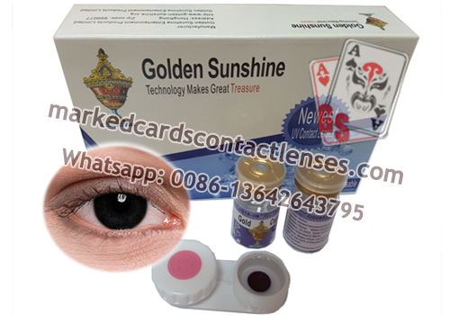 IR contact lenses for brown eyes