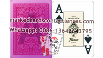 Fournier 2818 marked cards