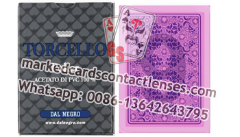 Dal Negro Torcello marked decks