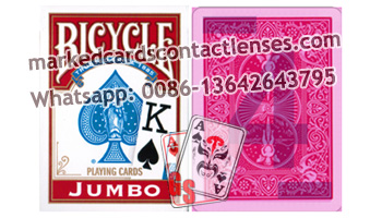 Jumbo Bicycle marked cards