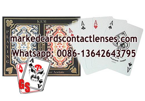 KEM Paisley marked decks