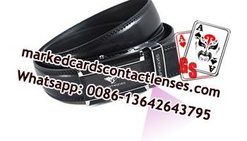 Leather belt poker scanner