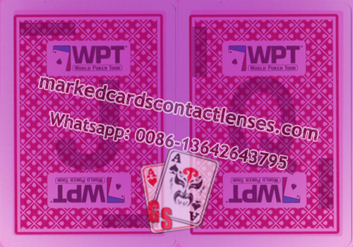 Fournier WPT Marked Playing Cards