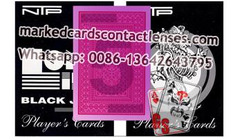 NTP BLACK JACK marked decks