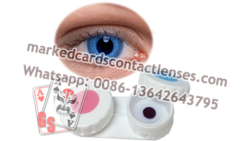 Marked Cards Contact Lenses for Blue Eyes