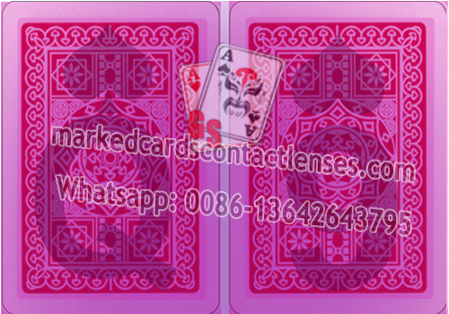 Normal marked cards