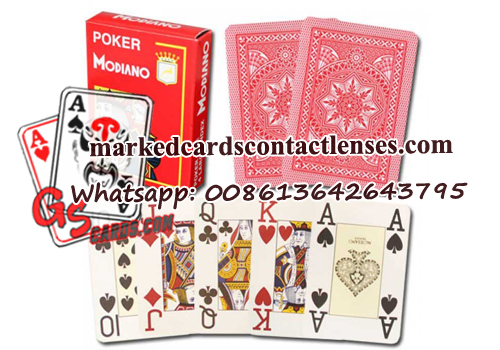 Modiano Cristallo playing cards
