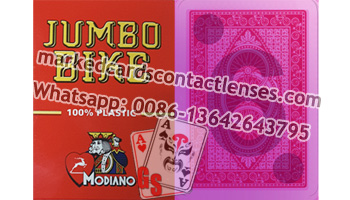 Modiano Jumbo Bike marked cards