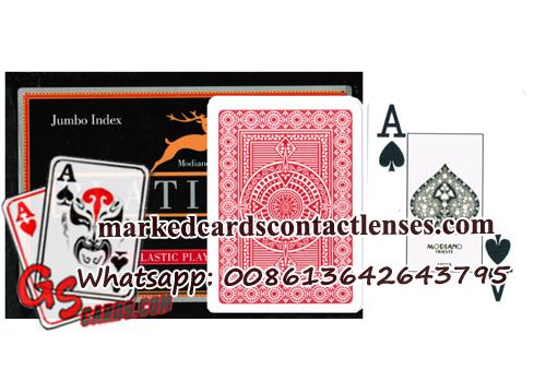 Modiano Platinum Poker Cards