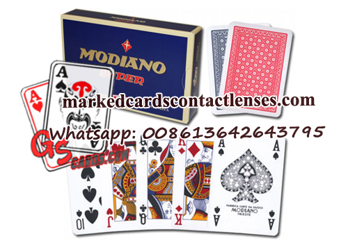 Modiano Super Fiori Playing Cards