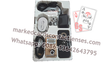 New auto tracking marked cards camera