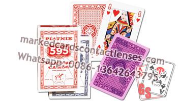 Piatnik 595 marked cards