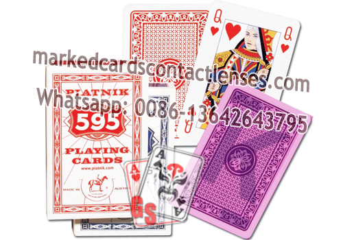 Piatnik 595 marked cards