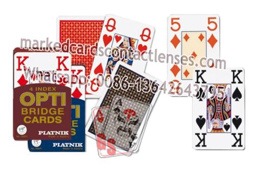 Piatnik OPTI marked cards