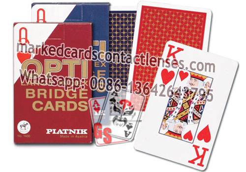 Piatnik OPTI Marked Cards