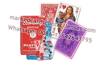 Plastic Piatnik Marked Cards
