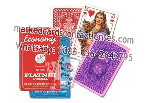 Plastic Piatnik Marked Cards