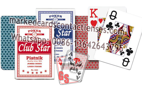 Star Club Marked Cards