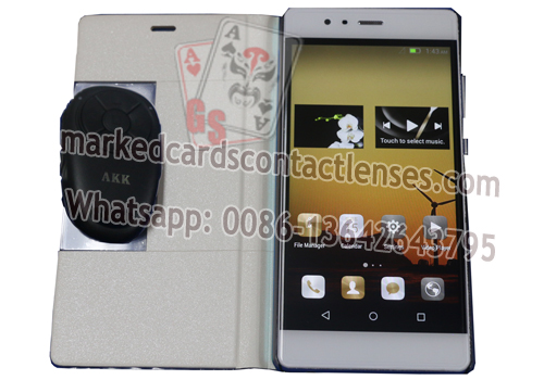 AKK A1 marked cards scanner analyzer