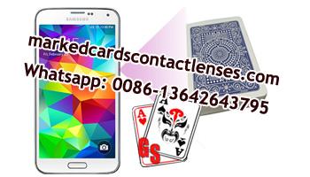 Samsung S5 poker scanner