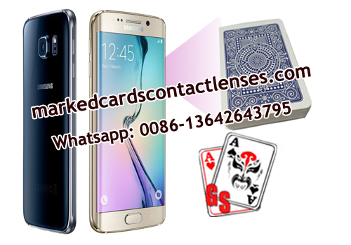 S6 phone marked cards scanner