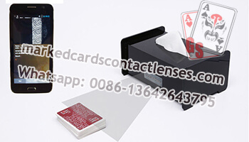 Tissue Box marked cards scanner