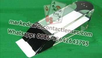 Baccarat playing cards camera