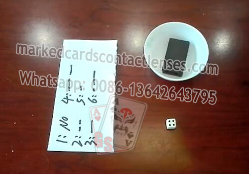 Radio Waves Processed Dice