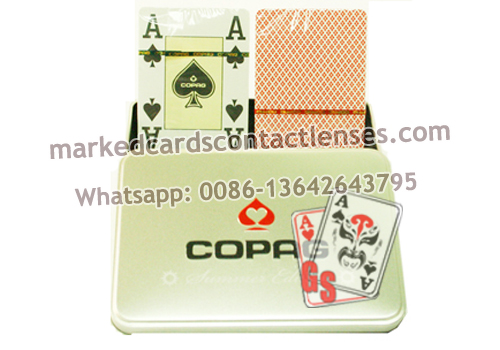 Summer Edition marked playing cards