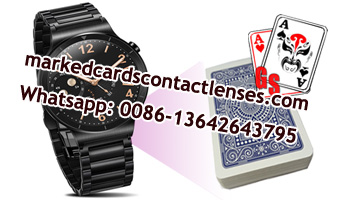 marked cards  watch scanner