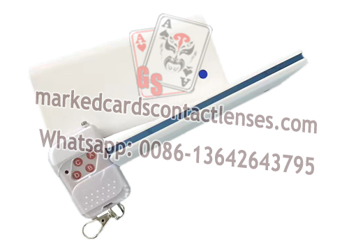 White Power Bank For Scanning Infrared Marked Cards