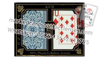 Wide Jumbo KEM Luminous Marked Cards