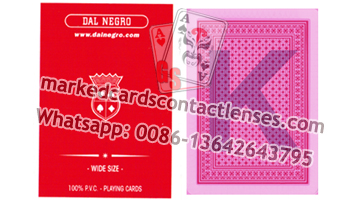 Wide size Dalnegro marked cards