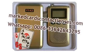 YT-K2 poker analyzer interphone